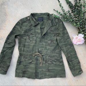 Anthropologie-Sanctuary Lightweight Camo Jacket